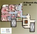 El_Shorouk City - 4 Bedroom Apartment 152 m² in Cairo for sale